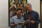 Nguyen Ba Chung and Kevin Bowen of the William Joiner Center for the Study of War and Social...