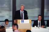 Kevin Bowen speaking at the 9/11 terrorism teach-in, 2001