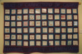 Pentagon Quilt made by the Hammel Street Elementary School on display in the Joseph P. Healey...