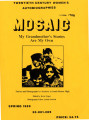 Mosaic: My Grandmother's Stories are My Own: Stories and Photographs by Students at South Boston High, 1989