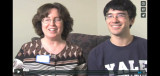 Brenden Woo and Sarah Woo at the Danvers Mass. Memories Road Show: Video Interview