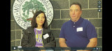 Michelle Hooper and George Hooper at the Wilmington Mass. Memories Road Show: Video Interview