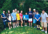 Beth Neville's Teen Art Students  - in July