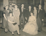 Furdon family in 1953 at my parent's wedding