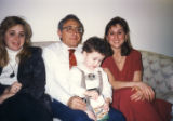 Emilio Ghioldi with Daughters Diana and Gina and Grandson Scott
