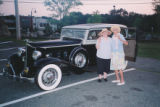1932 Packard Chauffered Ride for HAI's Birthday Party