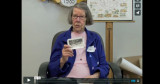 Ruth Johnson at the Hingham Mass. Memories Road Show: Video Interview