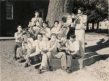 Boys in Band at the Farm and Trade School